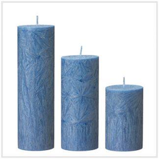 Crystalljus - Blå