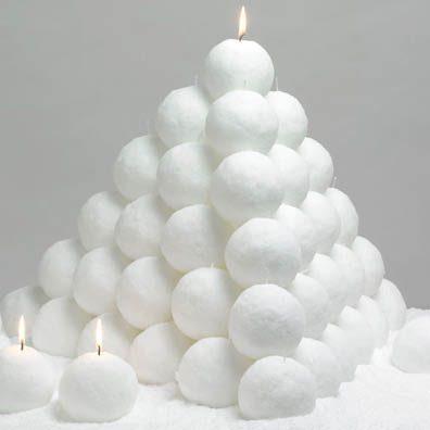 Snöbollar