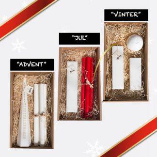 Presentboxar jul och advent